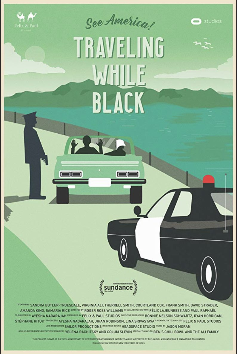 Poster for Roger Ross Williams' Traveling While Black